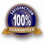 100 satisfaction guaranteed seal3 150x150 We add value to your business